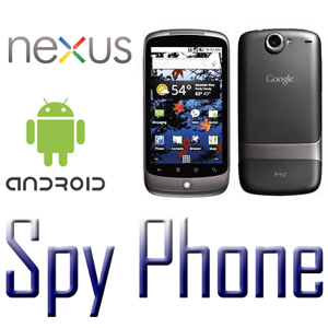 spy phone nexus android icone e foto