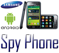 spy phone samsung android icone e foto