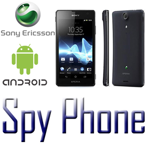 spy phone sony ericsson android icone e foto